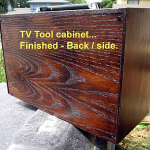 Tool Chest from old TV cabinet