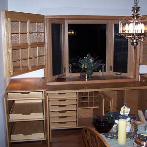 Dining Room Cabinet commission