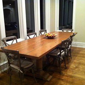 Heartwood pine table 2