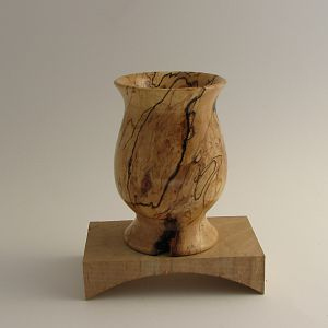 Spalted Maple Goblet