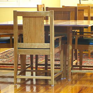 cherry gate leg table