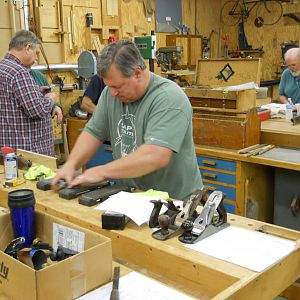 March 2016 Sharpening Class