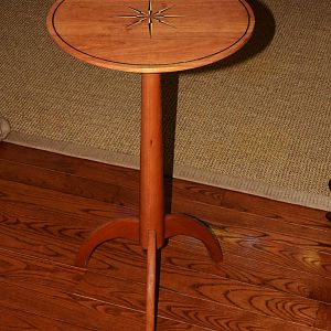Cherry inlayed table