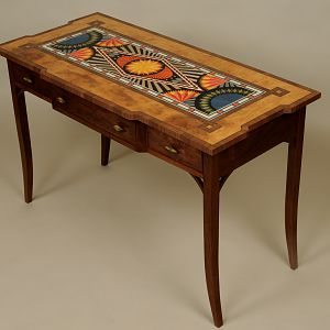 Geometric Table Front