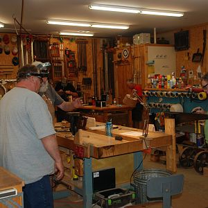 Saw Sharpening Workshop