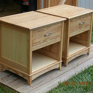 Disqualified - Resolution - First End Tables