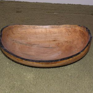 maple nature edge bowl
