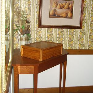 Shaker Dining room silverware chest