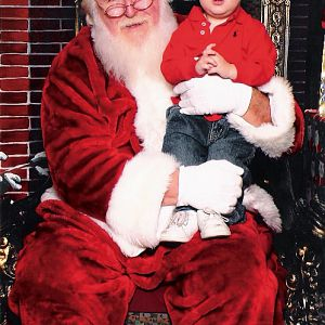 First time with santa