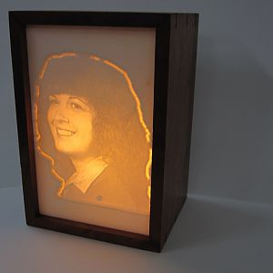 Carvewright carved lithopane