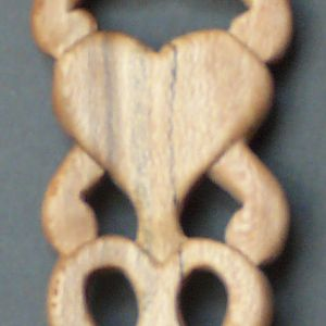 Celtic Love Spoon in QS Sycamore