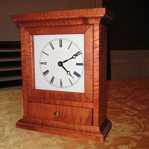 Mantel Clock From WoodSmith