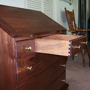 Solid Walnut Chest