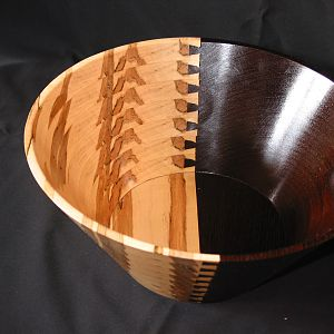 Dovetail Wenge & Ambrosia Maple Bowl