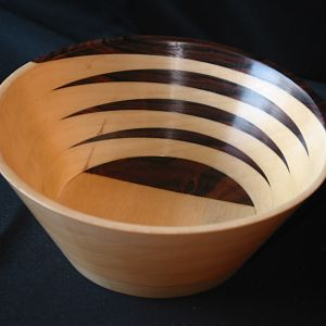 Aspen & Tigerwood Bowl