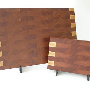 Mahogany/Hard Maple Matched Set Cutting Boards