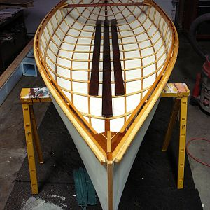 Canoe Work in Progress
