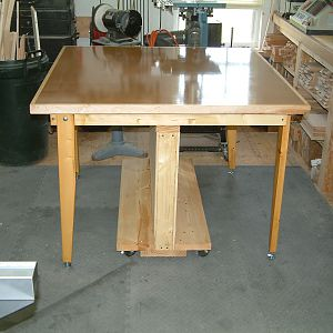 Flip Top Assembly Table