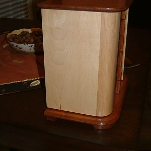 Maple and Cherry Jewelry Box