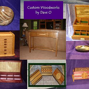 Custom Woodworks By Dave O