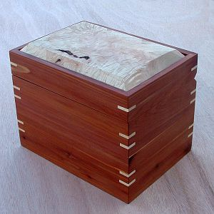 Cedar and Maple Recipe Box