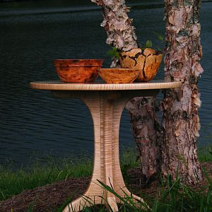 Tiger_maple_Maloof_Table