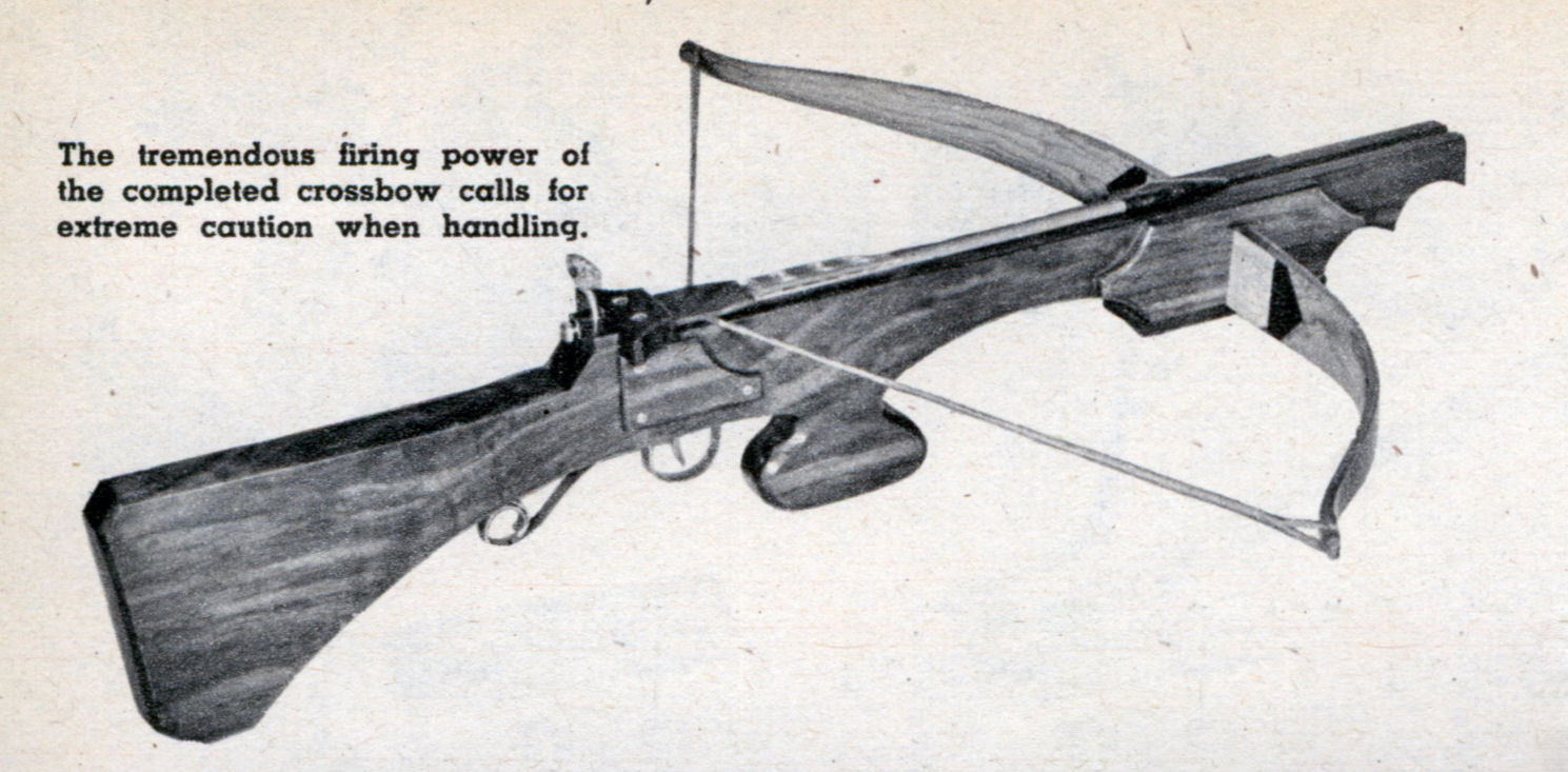 Wooden Crossbow Plans