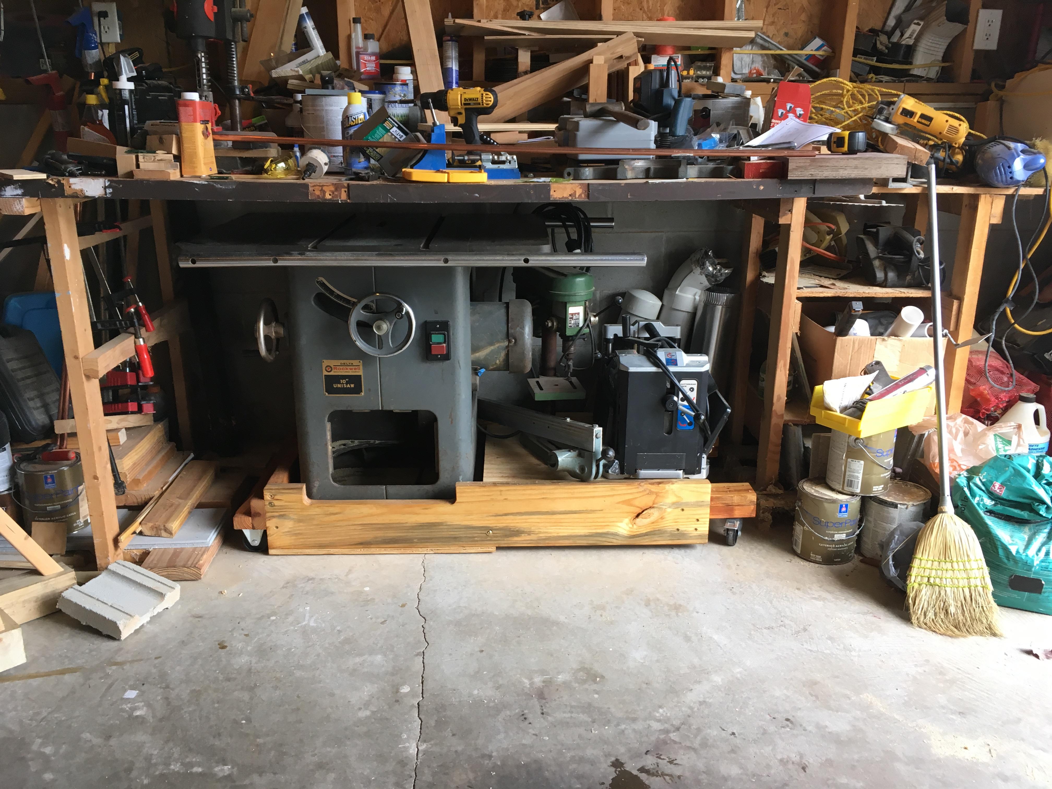 Pleasant Slab Top Workbench Nc Woodworker Dailytribune Chair Design For Home Dailytribuneorg