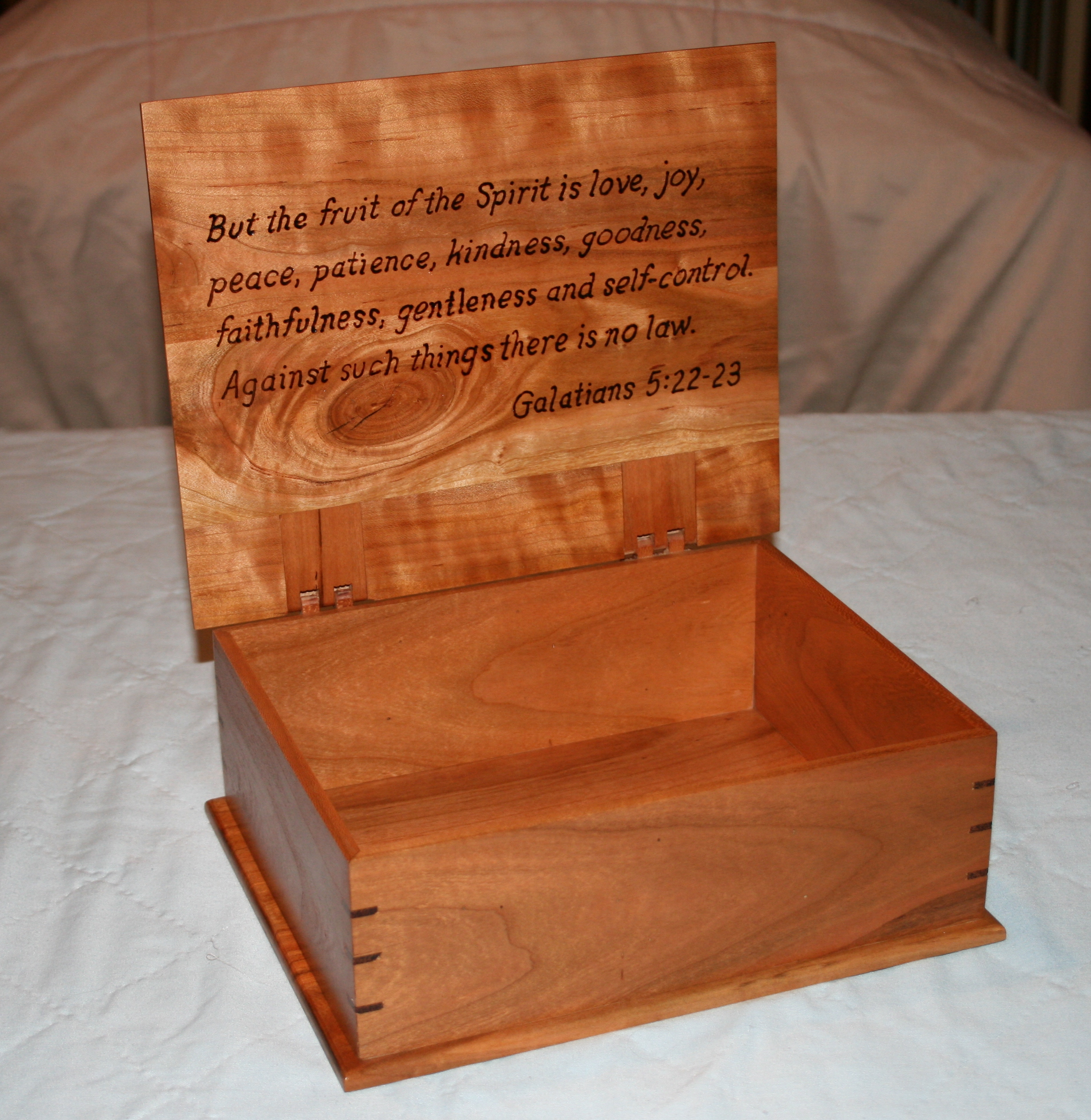 Cherry Bible Box