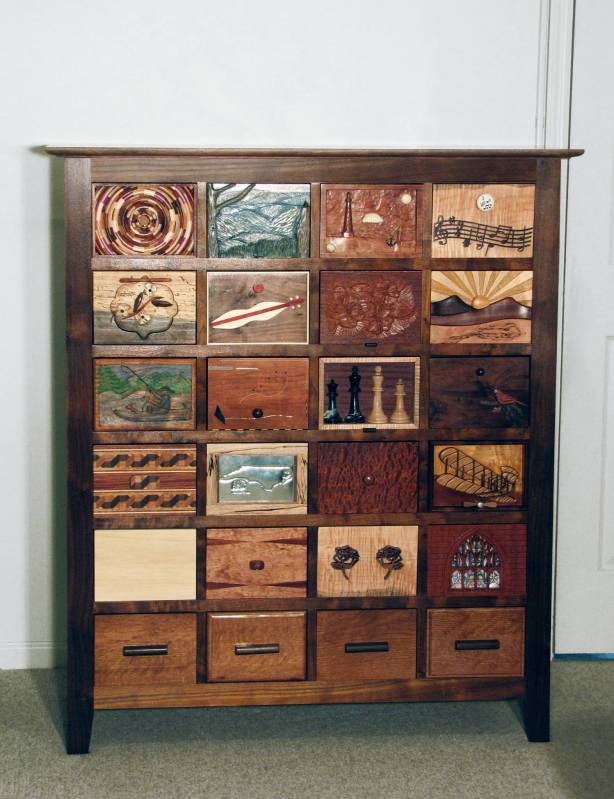 Chest of Many Drawers