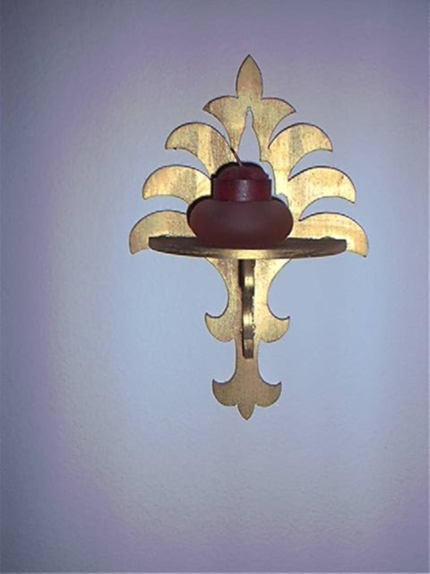 Scroll saw Sconce
